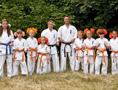 Karatevorführung – Kleinste