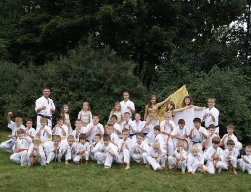 Karatevorführung in Berlin-Marzahn