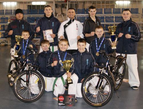 Kinderturnier 'Zolotoje Kolzo Rossii' Landesmeisterschaft Russland – Matzushima Karate Organisation