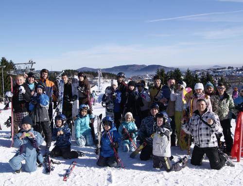Winterlager mit Ski und Karate!