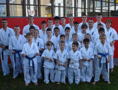 Karatevorführung