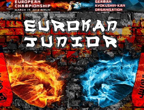 Osu Shihans, Senseis, Sempais und Unterstützer der Teilnehmer an der Europäischen Meisterschaft Eurokan Junior 2016!